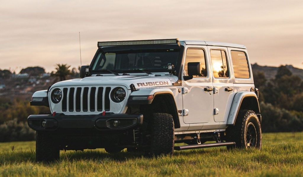 proper way for rotating tires on a jeep wrangler