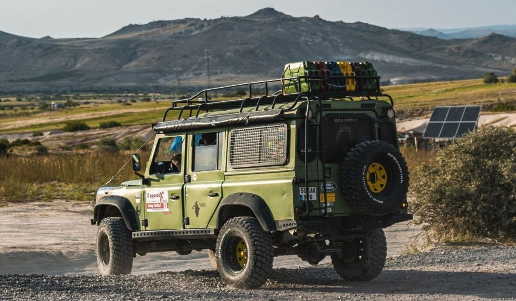 No drill roof rack for Jeep Wrangler