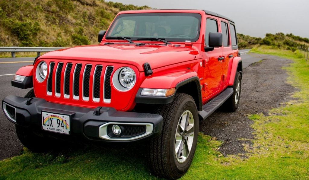 maintain & clean air filter on jeep wrangler